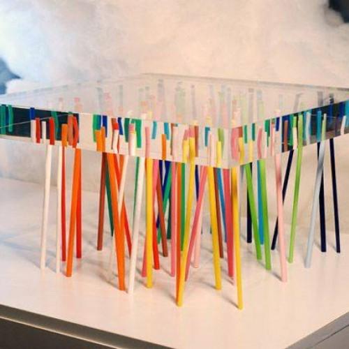 Epoxidový stôl rainbow