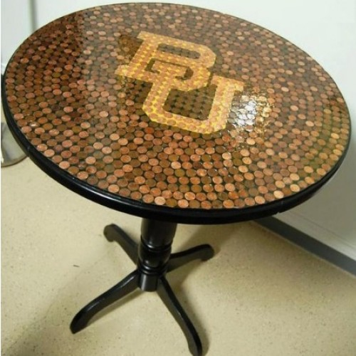 Epoxy table 50 cent