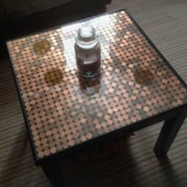Epoxy table SQUARE
