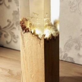 Epoxy lamp OAK